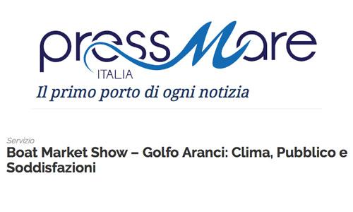 Press Mare articolo su Boat Market Show Sardinia